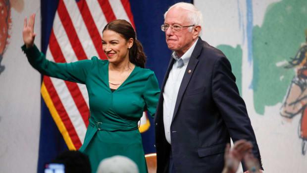 Bernie Sanders AOC