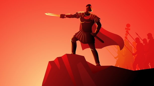red soldier w sword iStock-20200724 1156403294