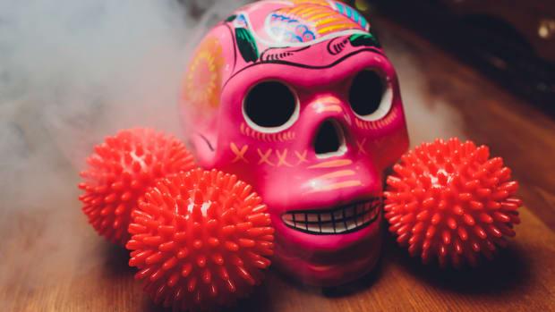 pink skull iStock-1255235691