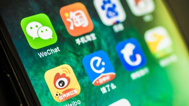 WeChat App iStock-1011141042