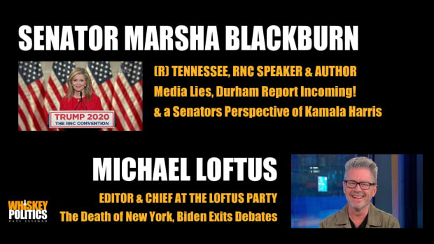 Senator Marsha Blackburn and Producer, Writer Comedian Michael Loftus