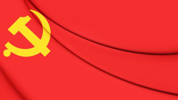 iStock-CCP flag 587528582