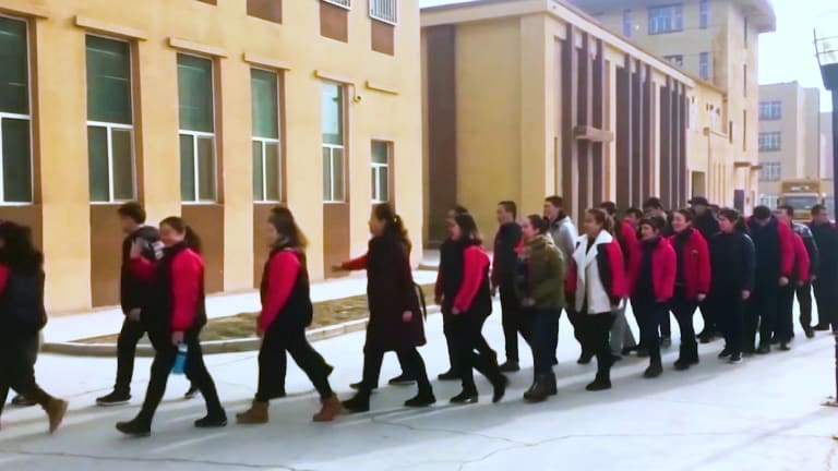 U.S. CORPS USE THE FORCED LABOR OF CHINESE UYGHURS
