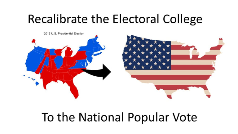 Ohio could vote to recalibrate Electoral College to the National Popular Vote