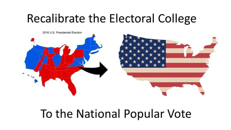 OR Senate Approves National Popular Vote for President Plan