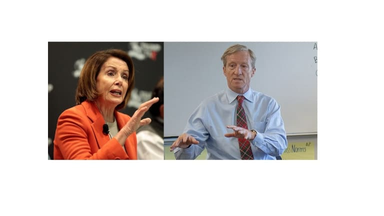 Tom Steyer is Right to Push for Impeachment and Nancy Pelosi is Right to Resist