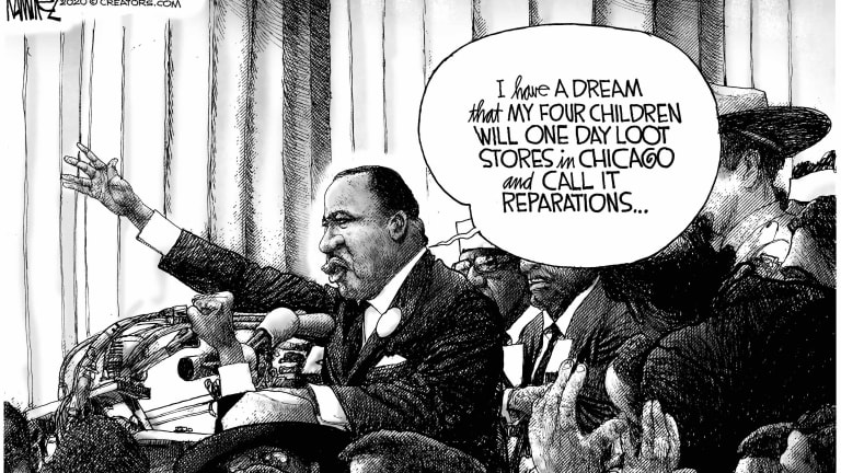 MLK Dream Warped and Diminished by Actions of Rioters 08-13-20