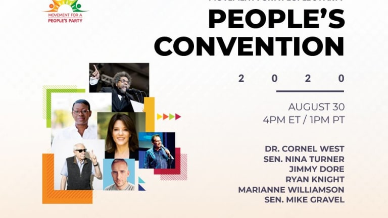 PRESS RELEASE: CORNEL WEST, NINA TURNER TO HEADLINE PEOPLES CONVENTION AUG. 30TH