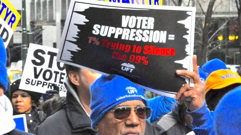 TENNESSEE ENACTS LAW THAT AIMS TO DENY VOTING RIGHTS TO PROTESTERS