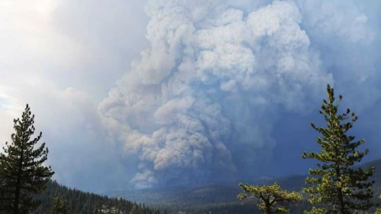 Climate Crisis: Fires, 50,000 ft. Smoke Plumes, Record Heat Wave Hit California