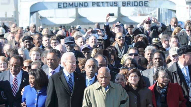 Nostalgia Politics: Using Selma, Ala. As a Prop, While Nothing Changes