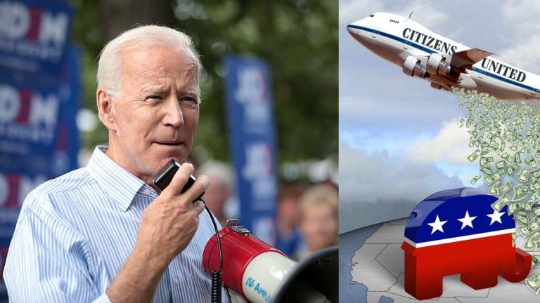 Joe Biden's Record On Citizens United