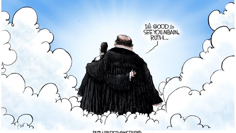 Old Friends, Ginsburg and Scalia 09-20-20