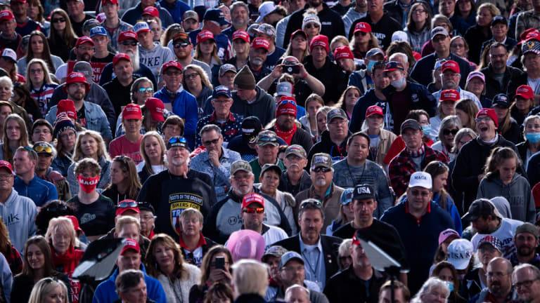 Trump's White Supremacist Speech in Minnesota Went Mostly Unnoticed