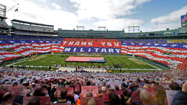 Interview With Sportswriter Dave Zirin: Demilitarizing The NFL