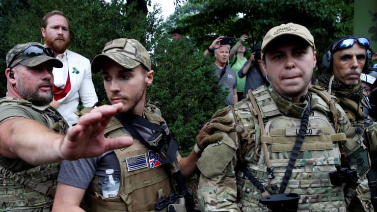 Trump Transparently Mobilizes An Armed White Nationalist Militia