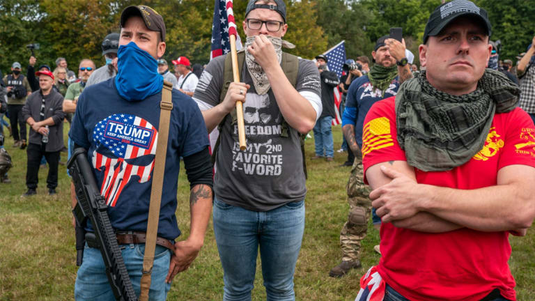 Winner of The Trump-Biden Debate: The White Nationalist Proud Boys