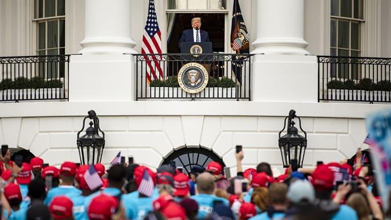 Trump's 'COVchella' Event Draws a Small Crowd