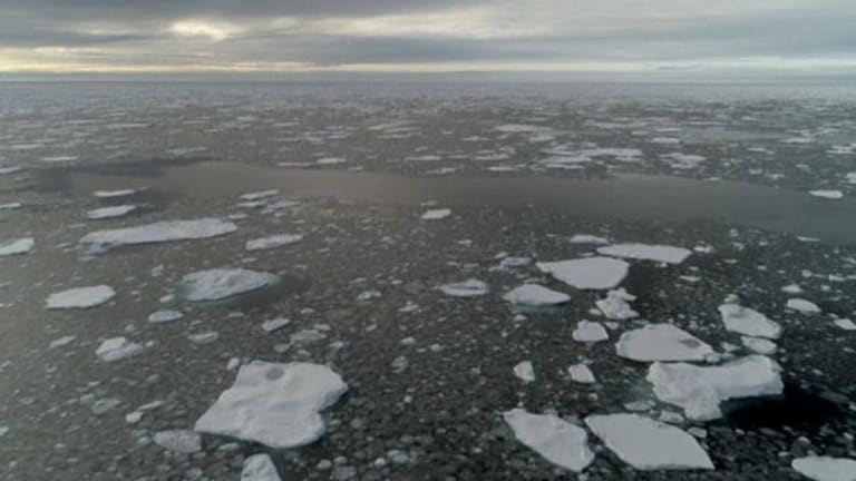 It's Late October: The Arctic Should be Freezing Over By Now...It's Not