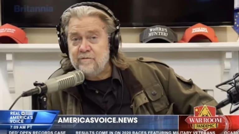 Trump Advisor Steve Bannon Calls For Dr. Fauci's Beheading