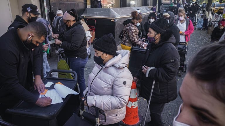 Homeless Shelter and Food Bank Needs Surge to Record Levels as Holidays Approach