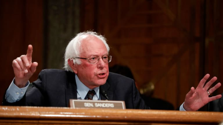 Bernie Sanders Leads Fight For $2K Covid Relief