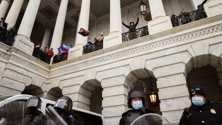 In the U.S. Leftwing Protestors Get Billy-Clubs and Bullets; Rightwing Protestors Get Kid Gloves