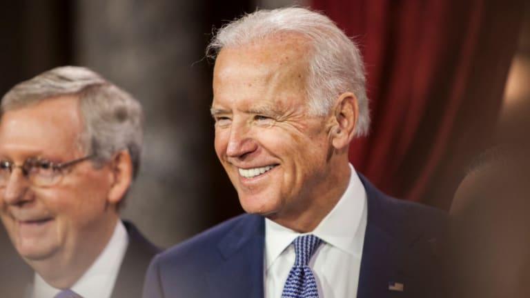 Biden Politically Defends Coup Republicans