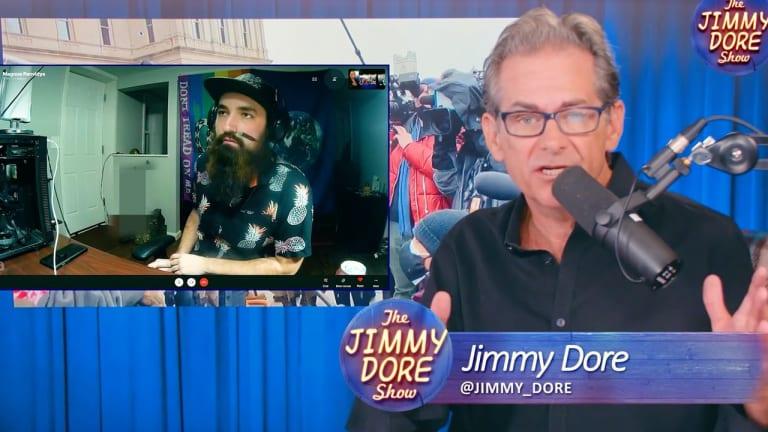 Jimmy Dore Gives Platform to Fascist Boogaloo Boy