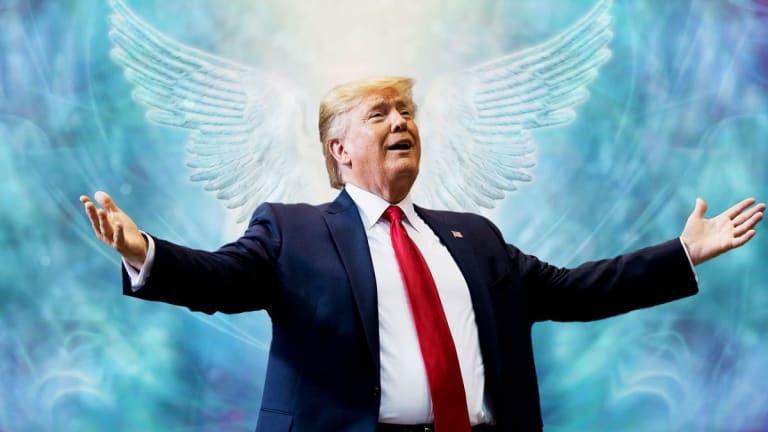 Why Many New Age 'Love & Lighters' Believe Trump is a 'Lightworker'