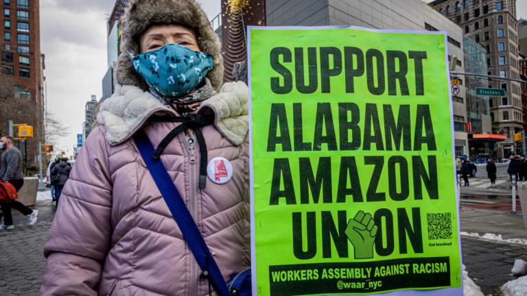 Amazon Hires Aggressive Union-Busters
