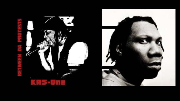 "KRS-One's New Album Offers Revolutionary Ideas for the Time ""Between Da Protests"""