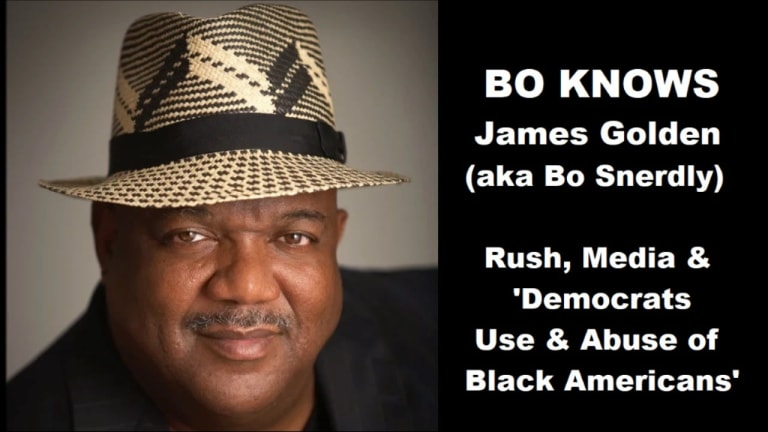 Bo Snerdly on Rush Limbaugh, Media & 'Democrats Use & Abuse of Black Americans'