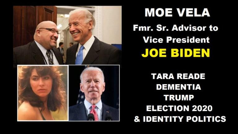 Walls Closing in on Joe Biden? Tara Reade, #MeToo Hypocrisy & Dementia? Sr. Biden Advisor Moe Vela
