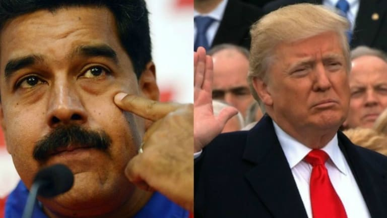 Trump Administration Encourages Coup in Venezuela Against Maduro
