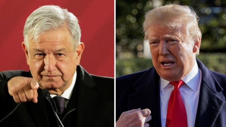 "Mexican President Lopez Obrador: Trump's 'Wall' is an ""internal debate in U.S.'"