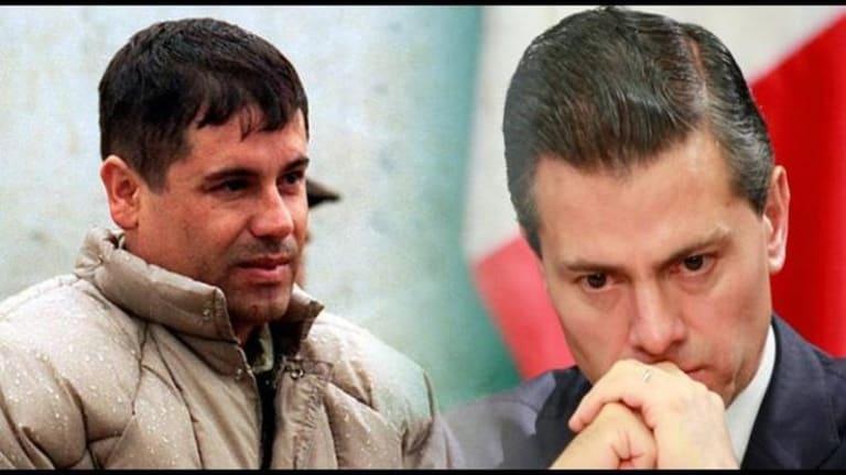 Ex Presidente de México, Peña Nieto, recibió millones de dólares del Chapo