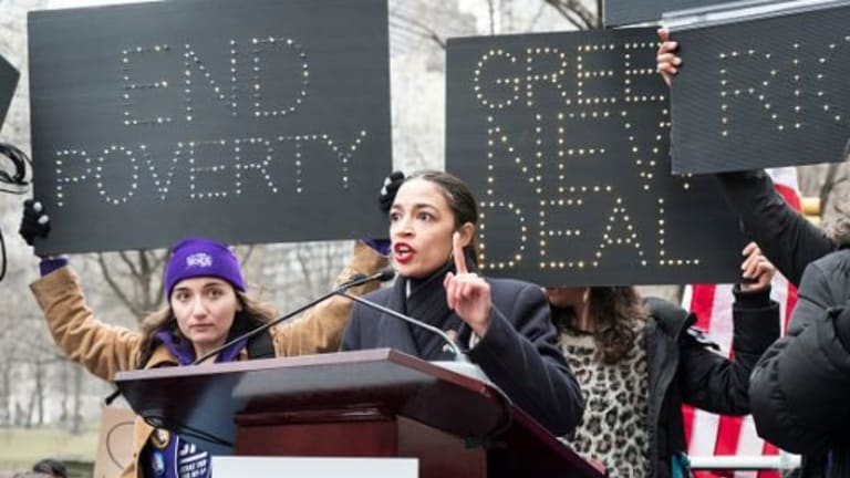 @AOC: Republicans Are Making Fools of Themselves Attacking The Green New Deal