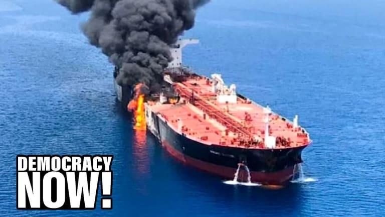 Democracy Now! : Vijay Prashad on U.S. aggression toward Iran