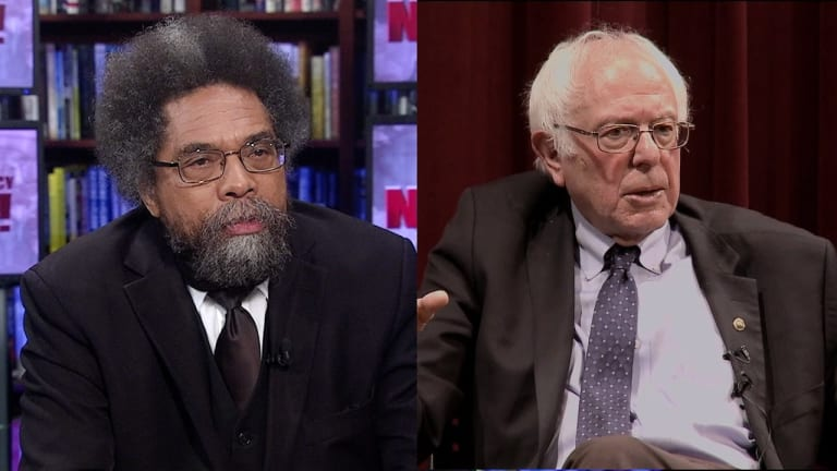 """Cornel West: """"Unlike Bernie, I Don't Think The Democratic Party Can Be Reformed"""""""