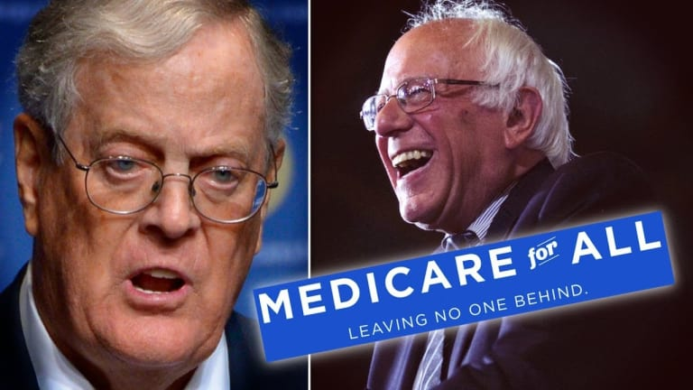 Koch-backed study finds 'Medicare for All' would save U.S. trillions