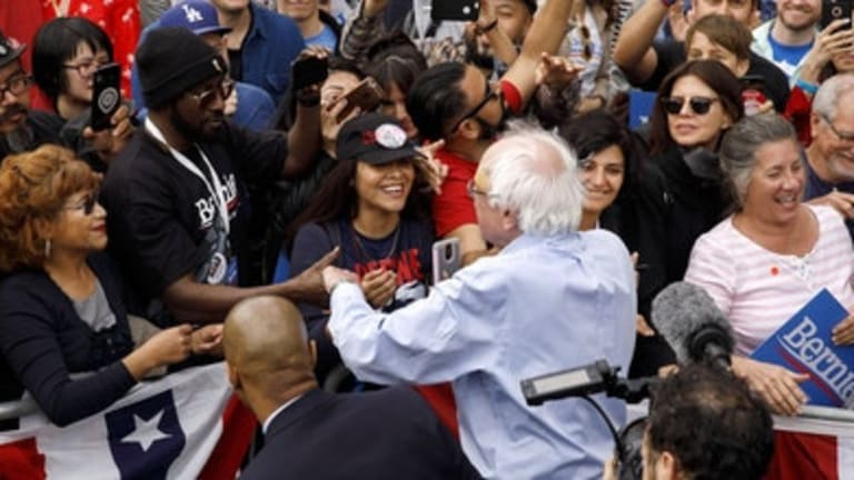 All Those White 'Bernie Bros' Turn Out To Be Women and People of Color...