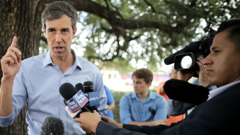 Beto O'Rourke Booted From 'No Fossil Fuel Money' List For Breaking His Pledge