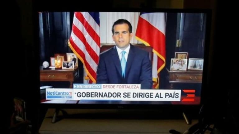 Governor of Puerto Rico Resigns