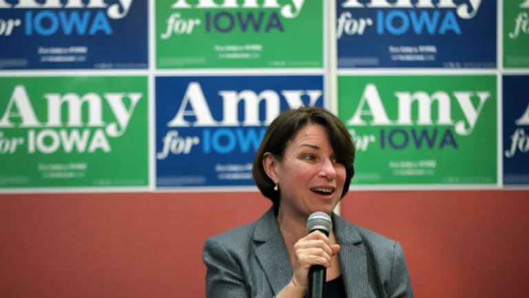 Why the Pundit Chatterbox Class Loves Amy Klobuchar