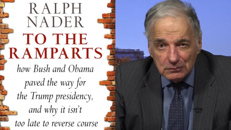 Ralph Nader On How Bi-Partisan Corporate Friendly Neo-Liberalism Led To Trump