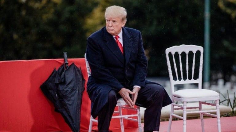 Trump is cracking