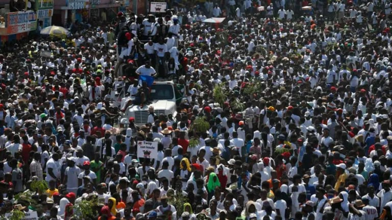 Haiti Is in the Streets Too