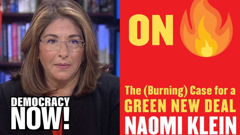 Naomi Klein Makes the Case for a Green New Deal to Save The Planet