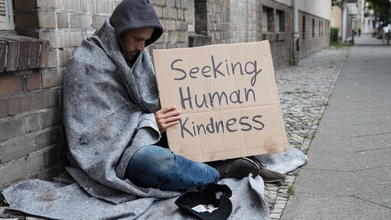 The Least One Can Do: Make Eye Contact With The Homeless Person